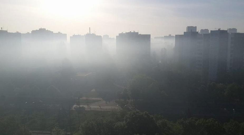 В Екатеринбурге и его окрестностях установился смог
