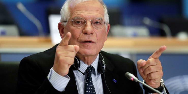 Боррель заявил о том, что все страны ЕС решили не обострять отношения с Россией