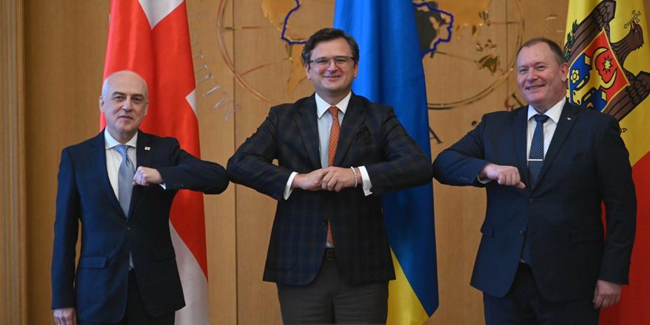 Работа по интеграции в ЕС – Украина, Грузия и Молдавия подписали меморандум