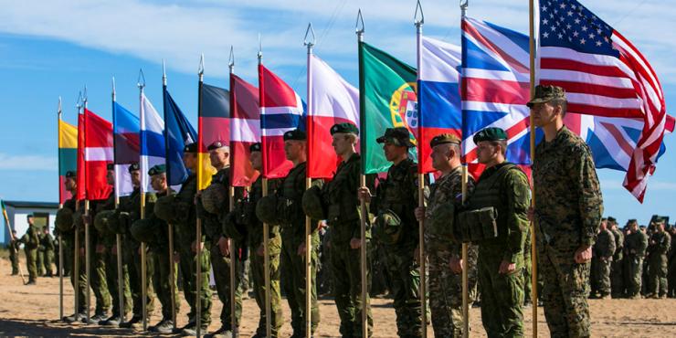 На учениях НАТО провели имитацию конфликта с Россией, сообщает Business Insider