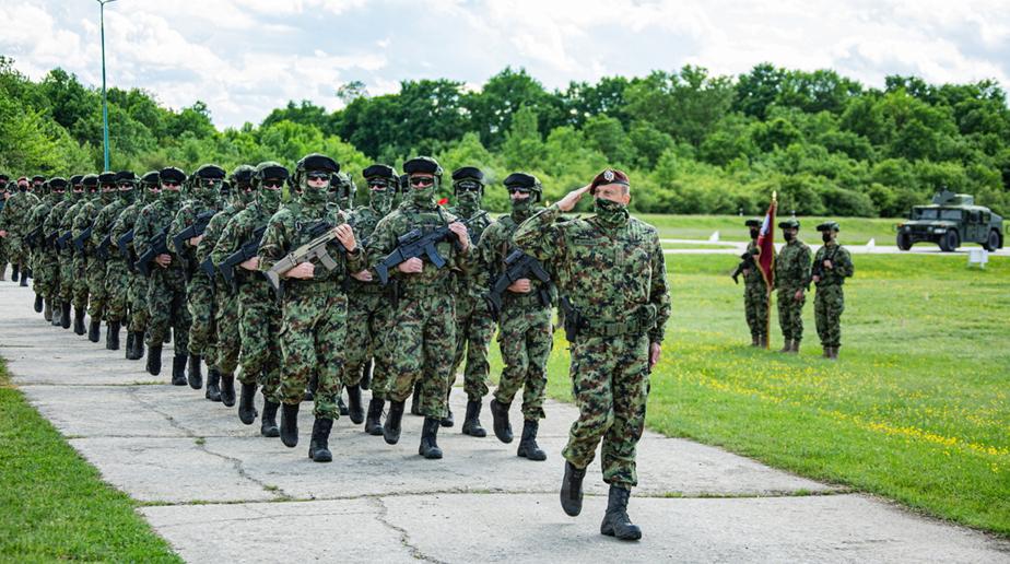 Россия и Сербия начали проведение военных антитеррористических учений