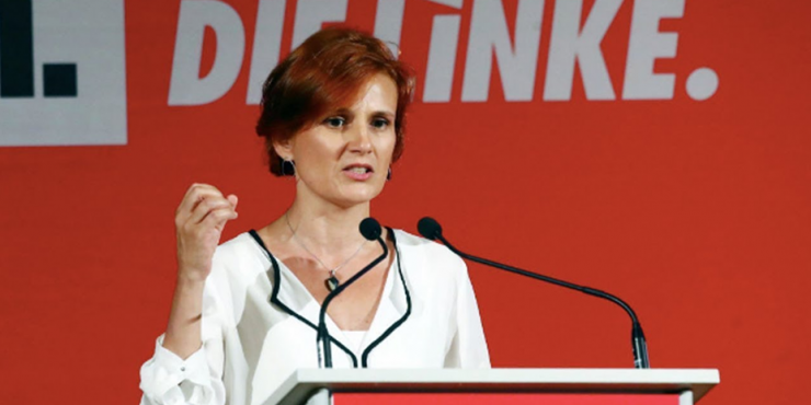 Левая партия ФРГ предложила наладить дружеские отношения  с Россией