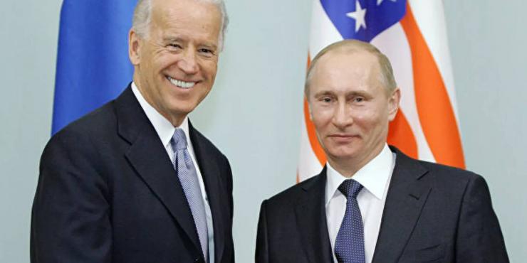 Переговоры между Путиным и Байденом состоятся 16 июня в Женеве