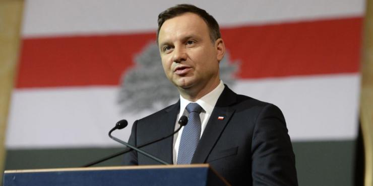 Президент Польши назвал Российскую Федерацию «ненормальной страной-агрессором»