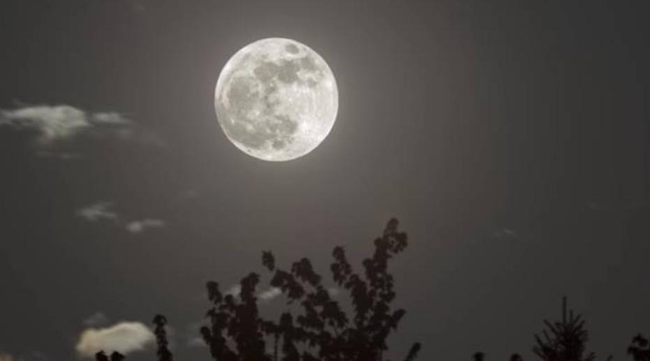 Российский спутник снял затмение суперлуны