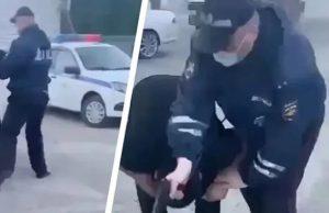 Супруга инспектора дорожной службы, случайно застрелившего нарушителя, записала видеообращению к Путину