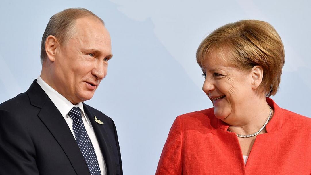Путин будет скучать по Меркель