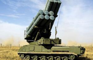 Украина направила к границе с Крымом ЗРК «Бук»