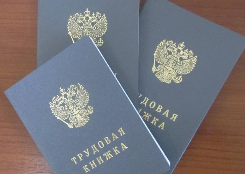 В России введены трудовые книжки нового образца