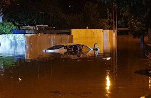 Трассу Адлер-Сочи затопило