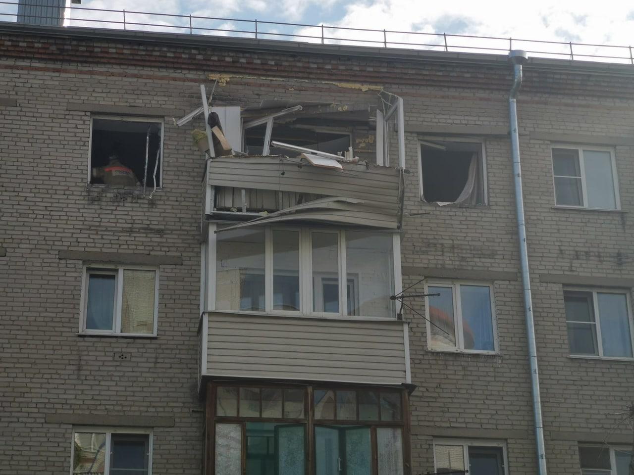 Предварительно назвали причину взрыва в многоквартирном доме в Барнауле
