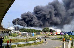 На химзаводе в Германии произошел взрыв