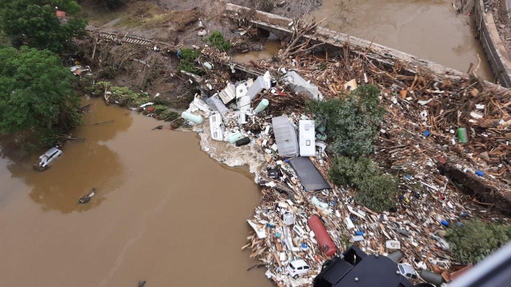 Число жертв наводнения в Германии выросло до 156 человек