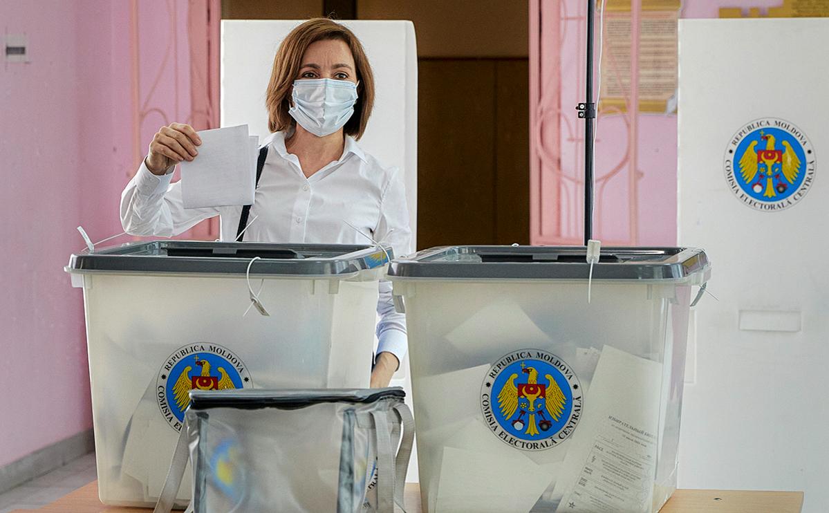 Партия президента Майи Санду взяла больше половины мест на выборах в парламент Молдовы