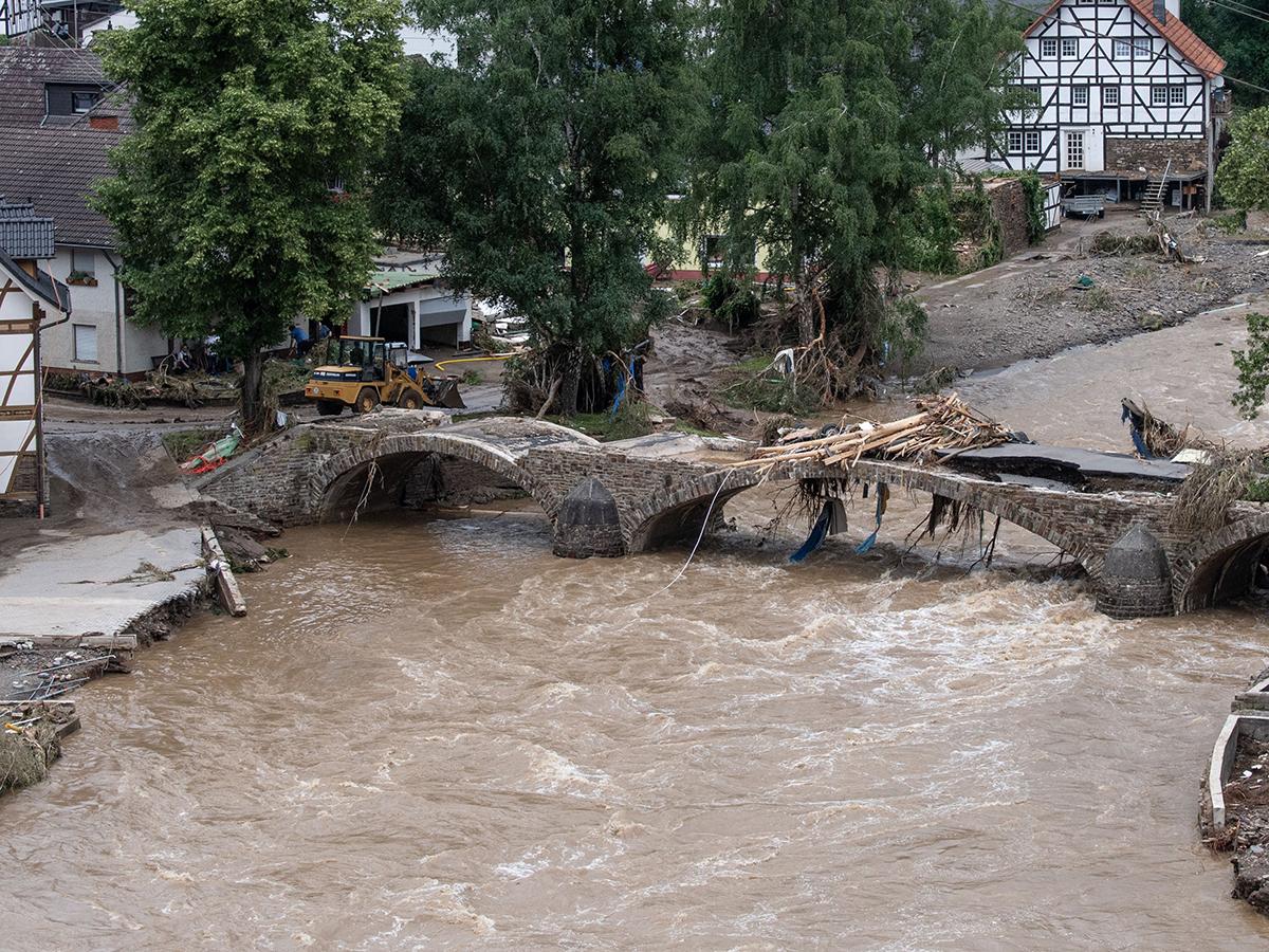 Германию накрыл мощный потоп, жертвами стали 80 человек
