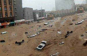 После Европы наводнение настигло Китай