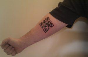Татуировка в виде QR-кода поможет москвичам попасть в ресторан