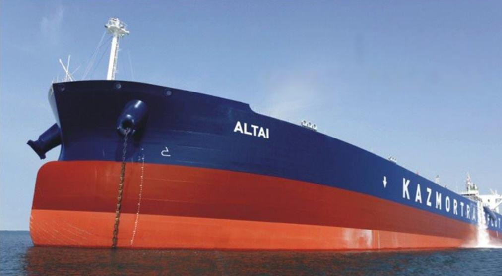 В Украину из России прибыл танкер с контрабандой 80 тысяч тонн нефти