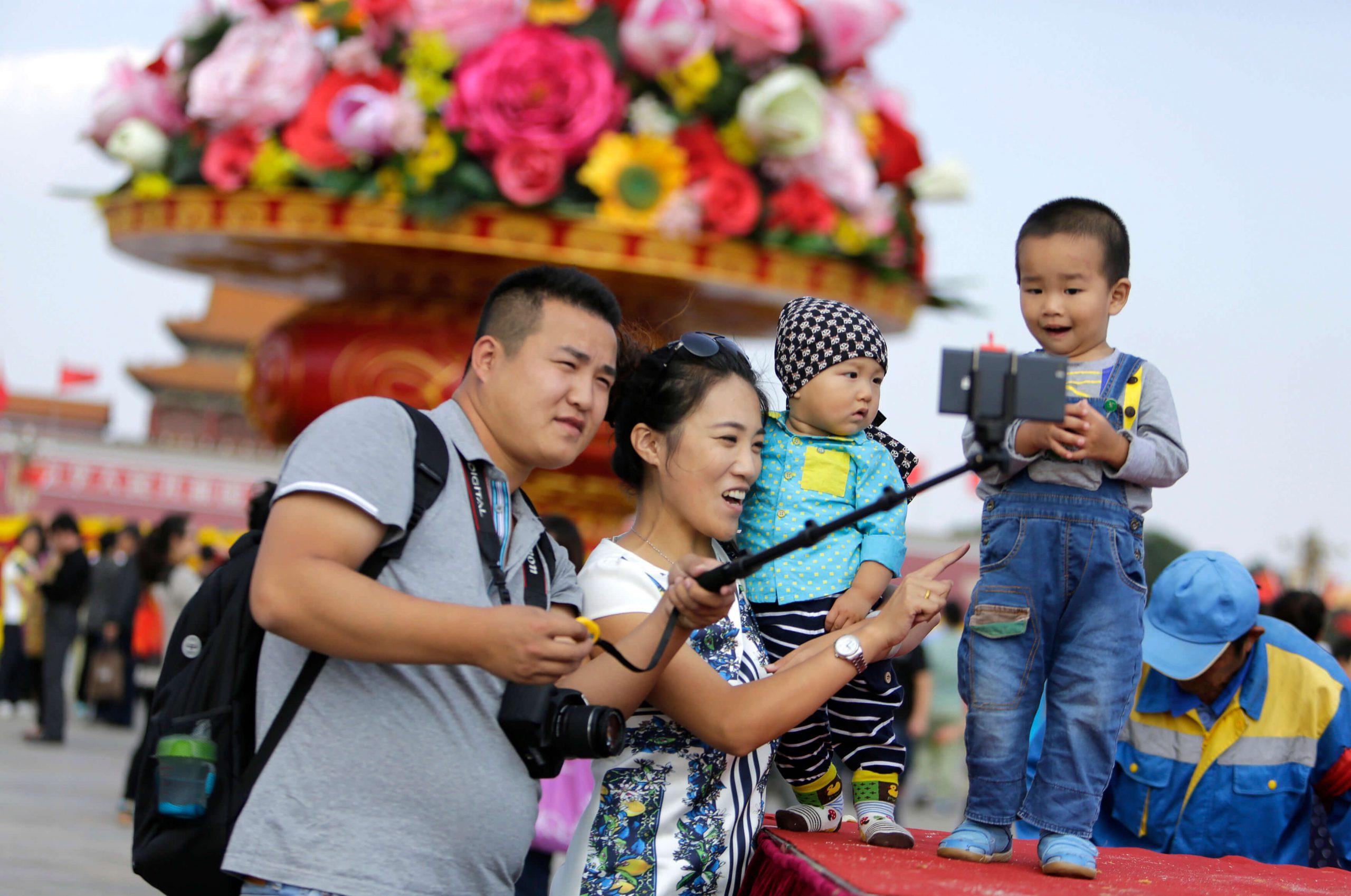 В Китае разрешили семьям иметь трех детей