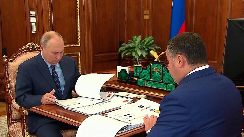 Путин прокомментировал свое состояние после вакцинации