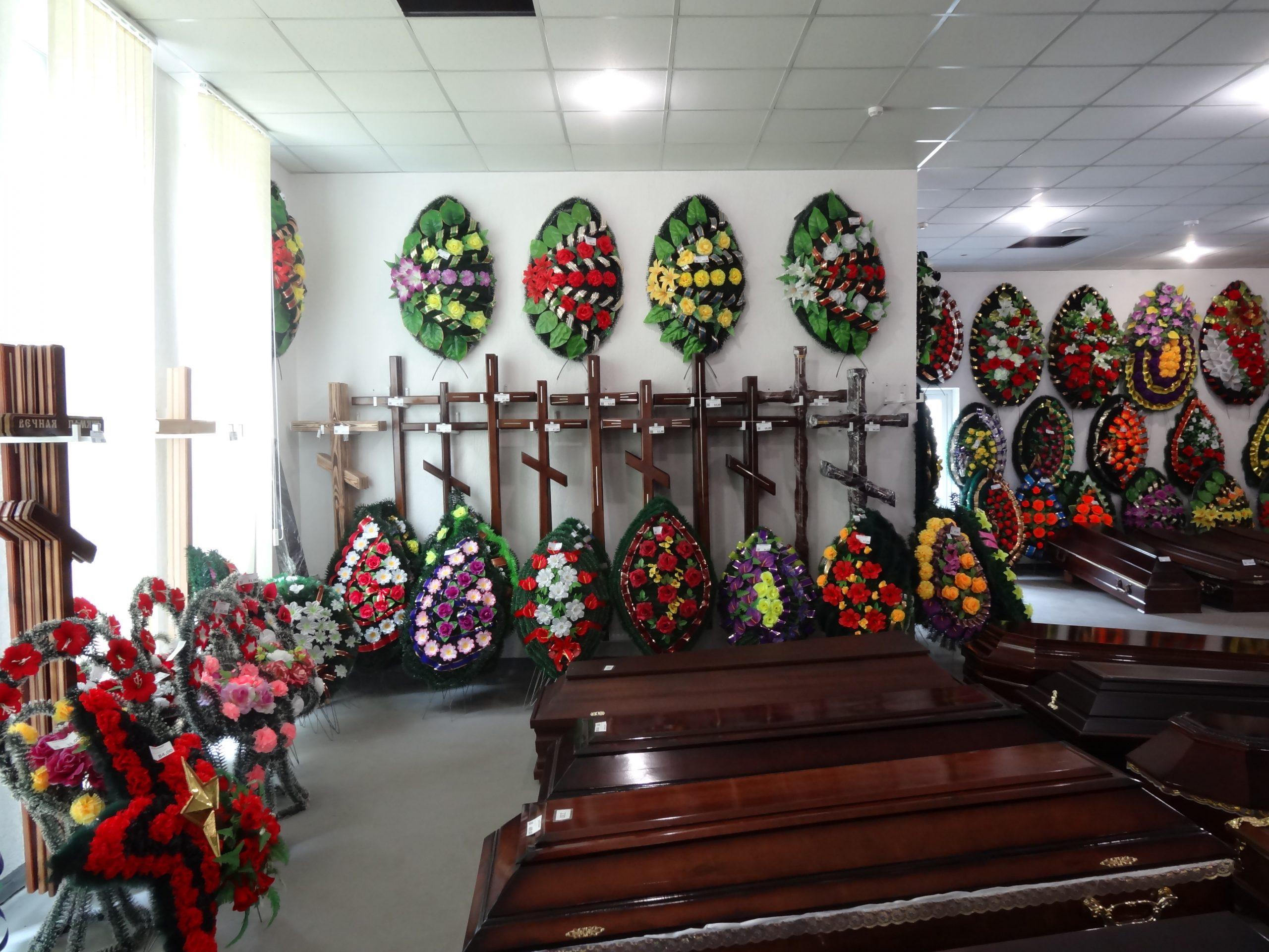 Производители ритуальных товаров заявили о росте цен свою продукцию