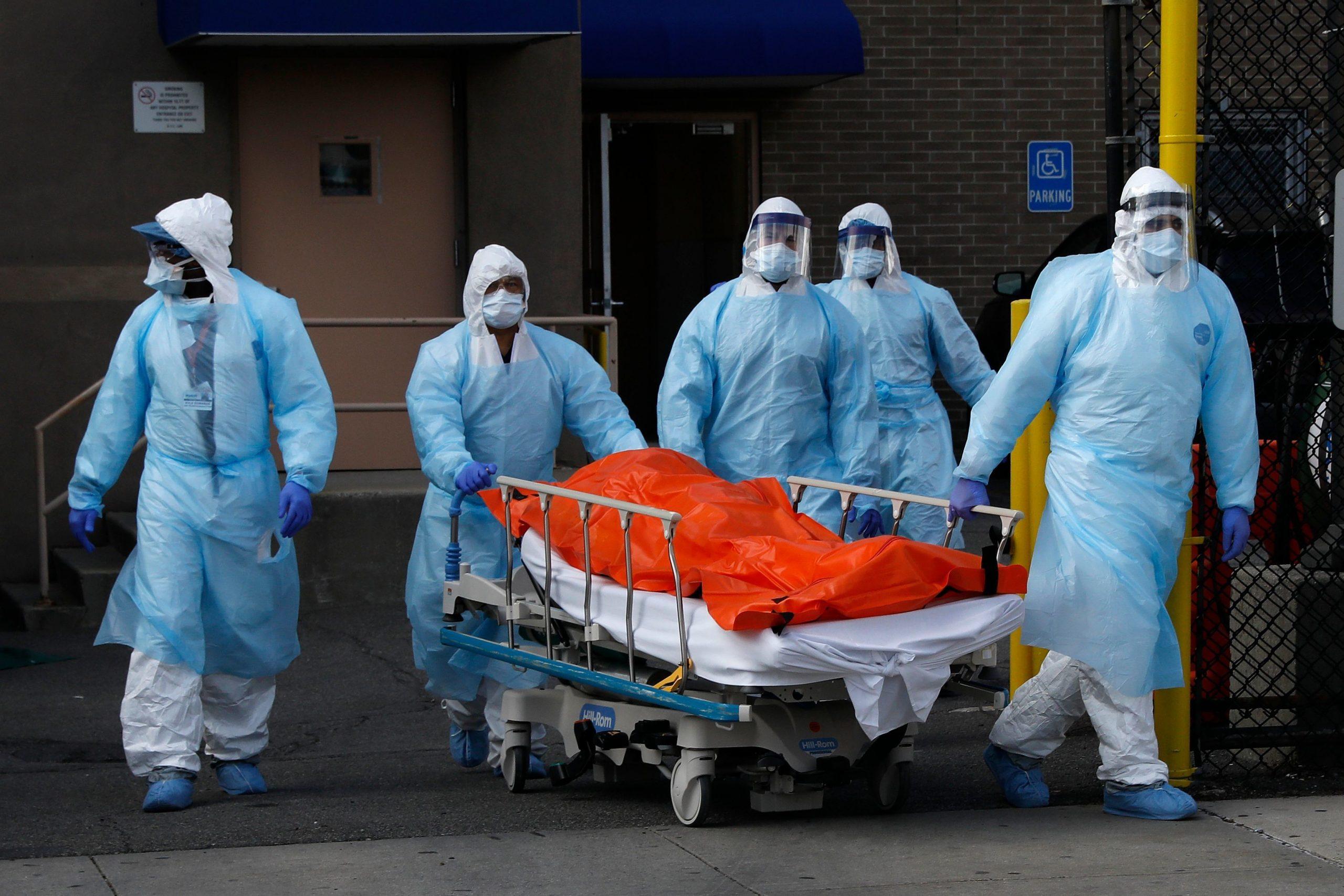 В России уже в четвертый раз побит антирекорд по смертности от COVID-19