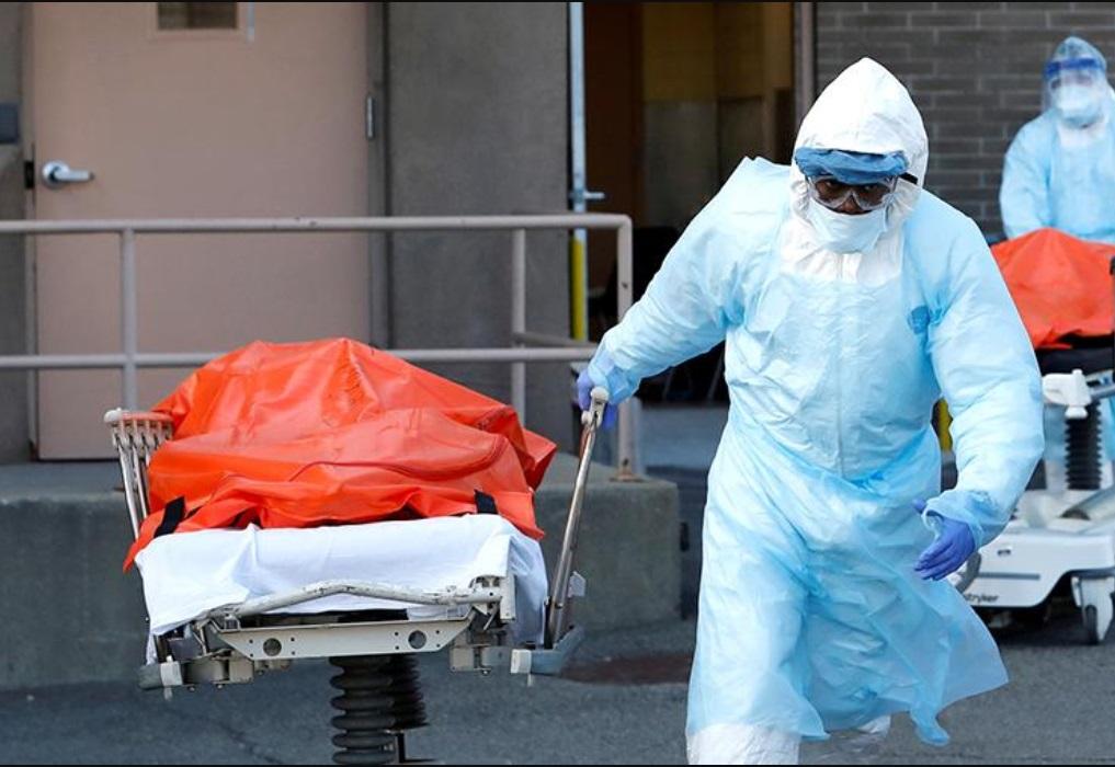 В США количество смертей от коронавируса побило рекордные показатели эпидемии испанского гриппа