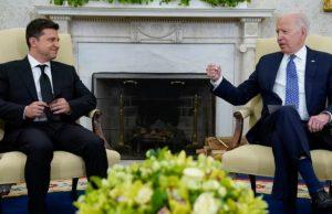 Зеленский и Байден обсудили новые санкции против России