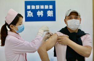 В Китае вакцинация от COVID-19 идет рекордными темпами