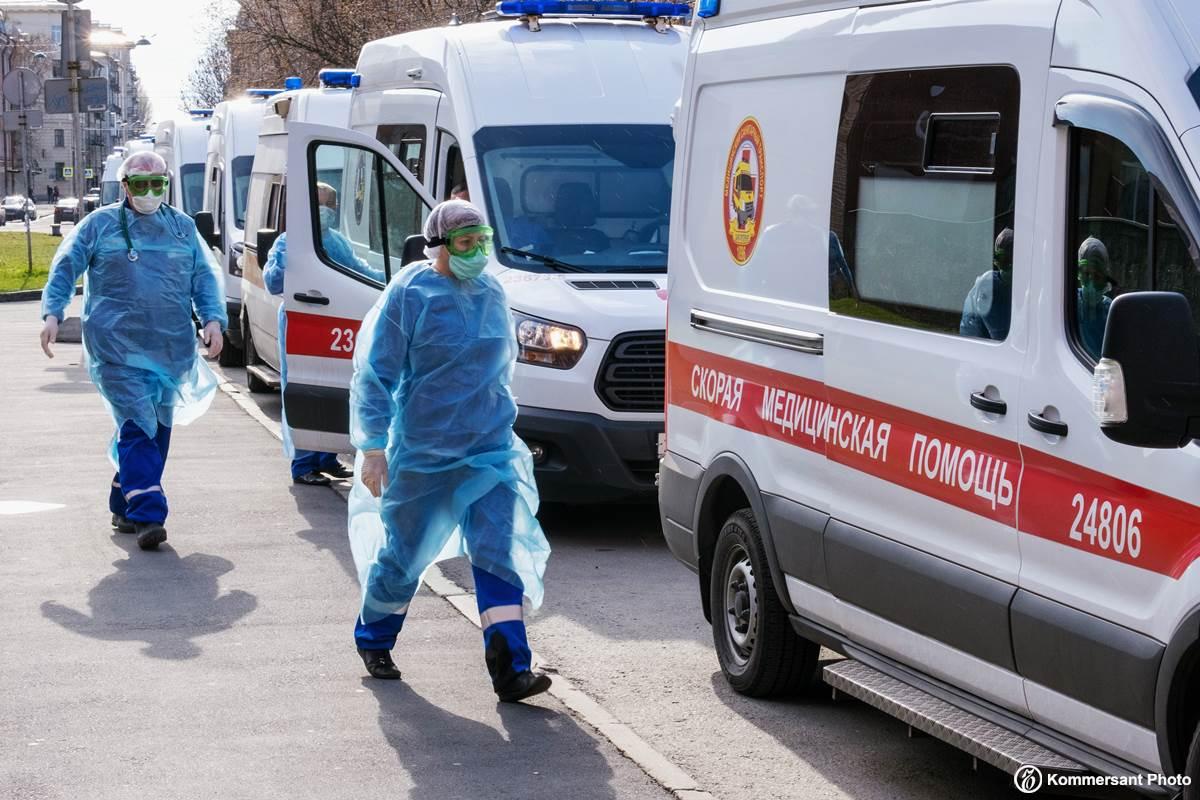 Вторые сутки подряд в России фиксируют суточный прирост больных COVID-19 больше 20 тысяч