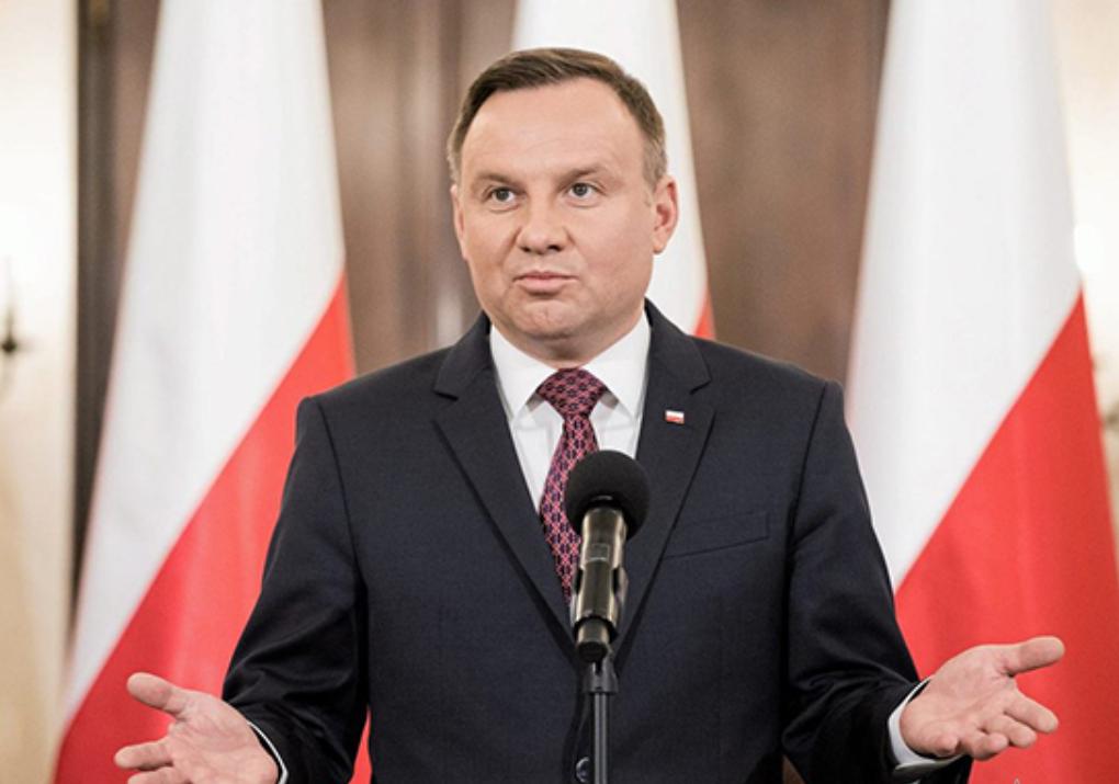 Президент Польши предложил ЕС и НАТО принять меры против шантажа «Северным потоком-2»