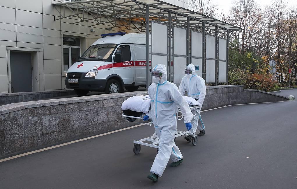За прошедшую неделю коронавирус забрал жизни более 6 тысяч россиян
